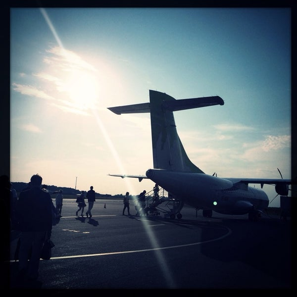 Photo taken at Ängelholm-Helsingborg Airport (AGH) by Viktoria E. on 7/8/2014