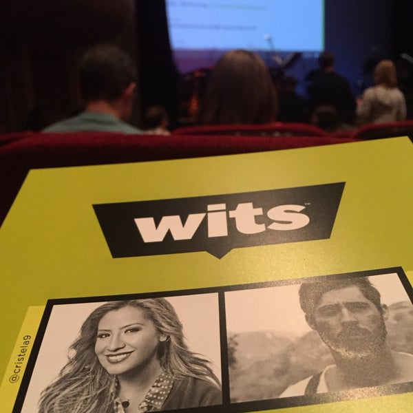 Wits is a MUST see show. Great to listen to it on MPR...but even better seeing it at its home venue!
