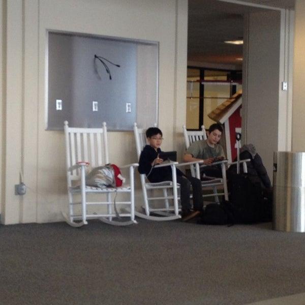 Photo taken at Portland International Jetport (PWM) by Tim on 1/12/2014