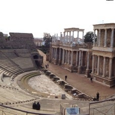 Photo taken at Anfiteatro Romano by Rodrigo F. on 2/22/2014
