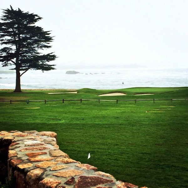 Photo taken at The Lodge at Pebble Beach by Ashley T. on 3/4/2014