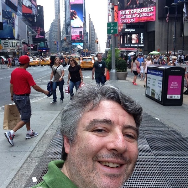 "Photo taken at Max Neuhaus ""Times Square"" by Kevin R. on 7/19/2013"