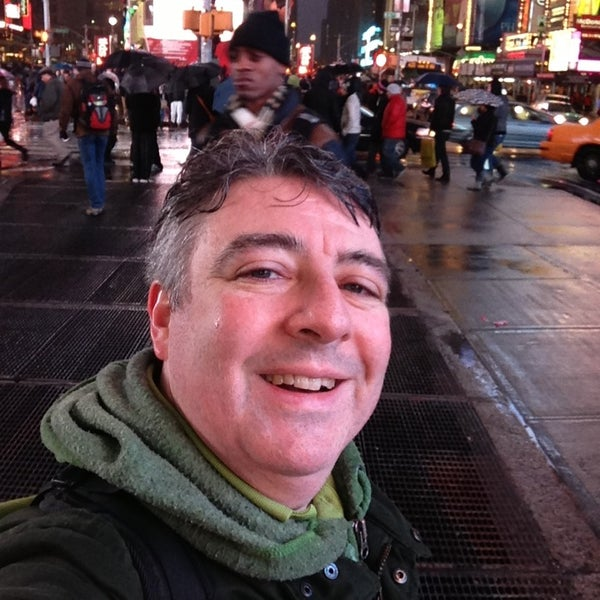 "Photo taken at Max Neuhaus ""Times Square"" by Kevin R. on 2/23/2013"