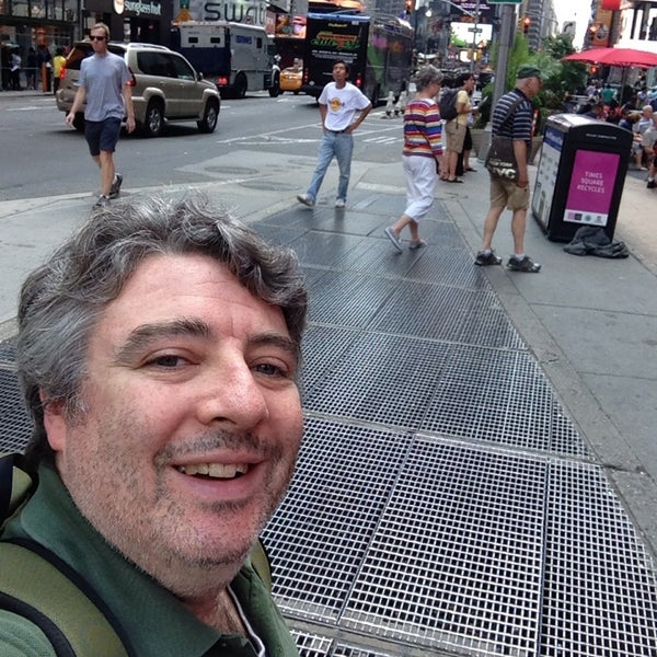 "Photo taken at Max Neuhaus ""Times Square"" by Kevin R. on 8/2/2013"