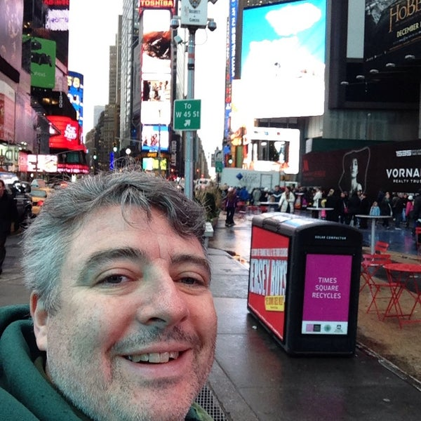 "Photo taken at Max Neuhaus ""Times Square"" by Kevin R. on 12/6/2013"