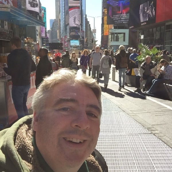 """Photo taken at Max Neuhaus """"Times Square"""" by Kevin R. on 10/14/2016"""