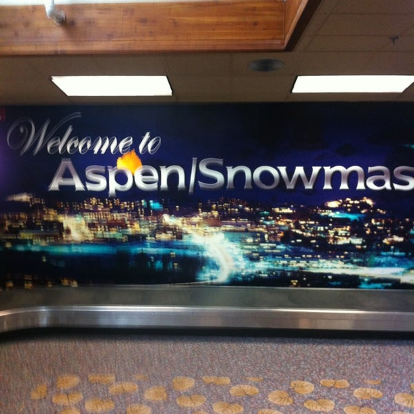 Photo taken at Aspen/Pitkin County Airport (ASE) by Ronnie K. on 7/15/2013