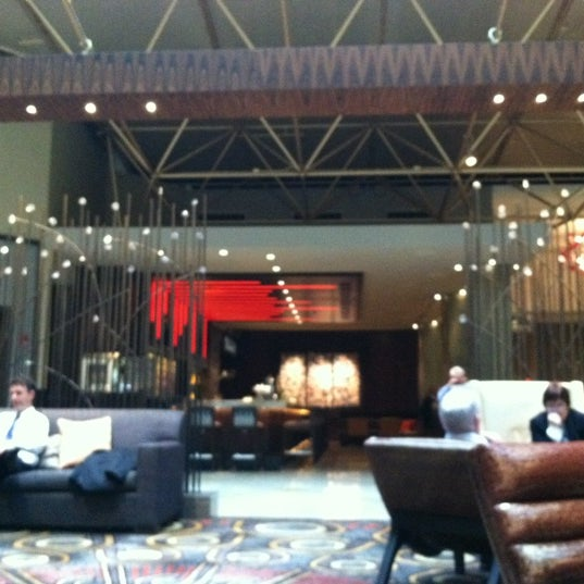Photo taken at Renaissance Washington, DC Downtown Hotel by Regina on 12/7/2012