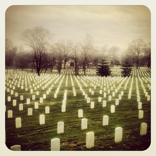 Photo taken at Arlington National Cemetery by Valentin K. on 12/11/2012