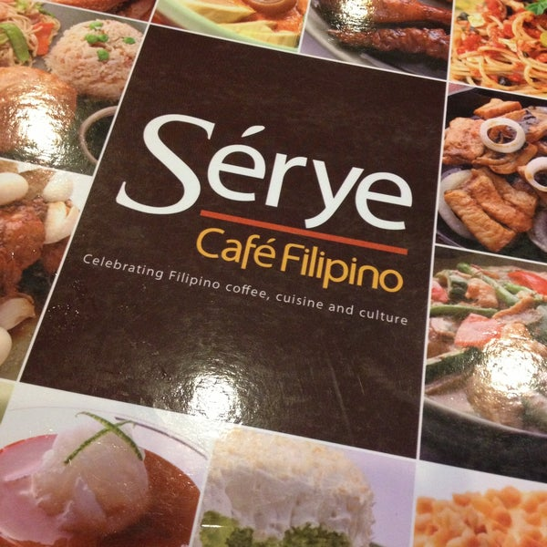 Photo taken at Sérye Café Filipino by Edel on 5/11/2013