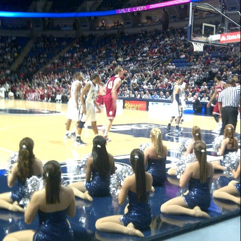 Photo taken at Bryce Jordan Center by Joe M. on 1/8/2013