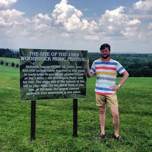 Photo taken at Woodstock Festival Concert Site/Monument by Lindsay K. on 6/24/2013