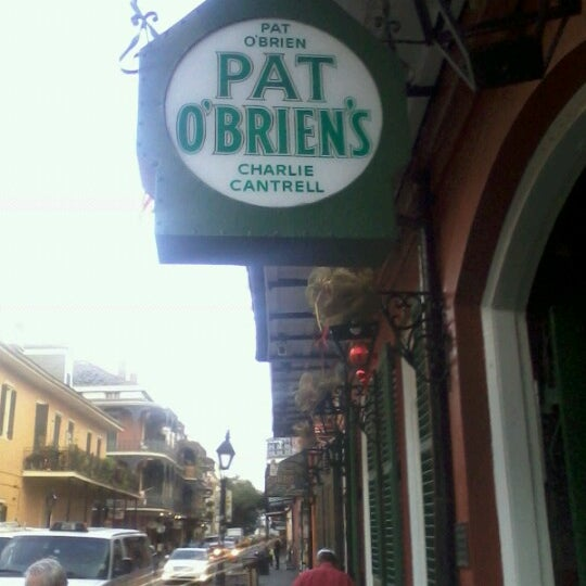 Photo taken at Pat O'Brien's by Julia F. on 12/6/2012