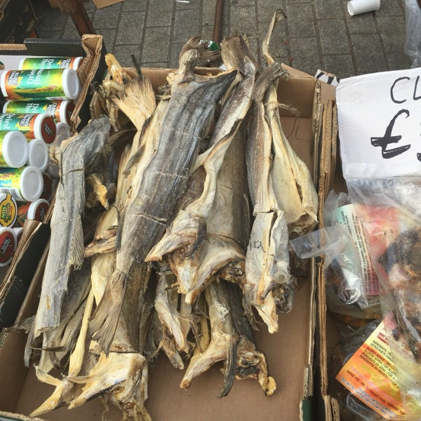 Photo taken at Ridley Road Market by Londowl on 9/12/2016