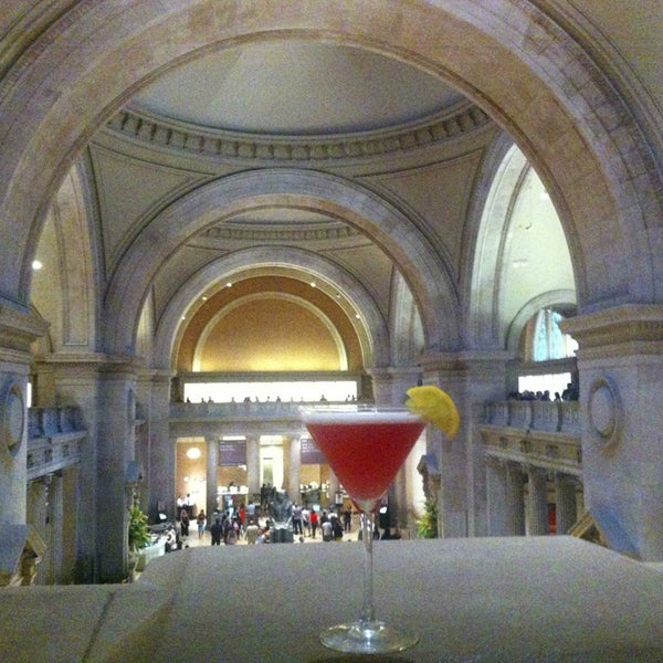 Foyer Museum Parking : The great hall balcony bar at metropolitan museum of