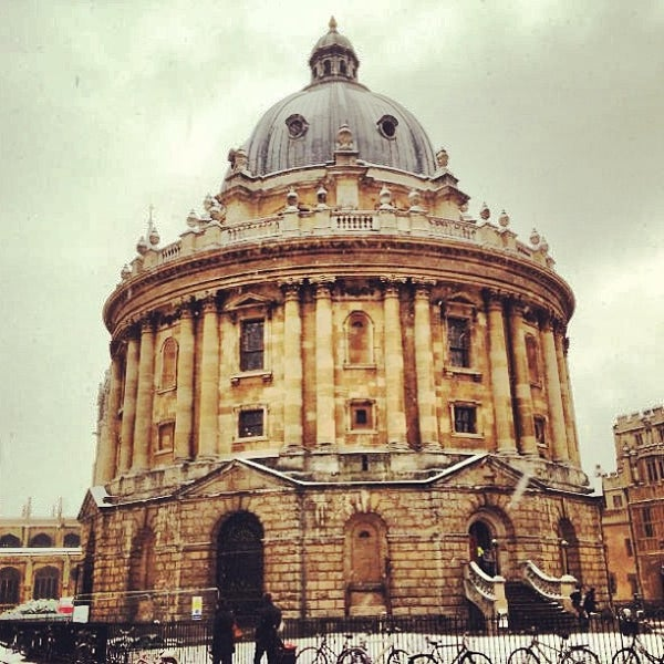 Photo taken at Radcliffe Camera by Rody I. on 1/20/2013