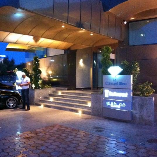 Photo taken at Diamant Bleu by fatih on 10/14/2012