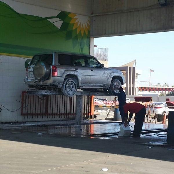 Photo taken at محطة الدبوس لغسيل وتلميع السيارات by Hussein A. on 3/2/2014
