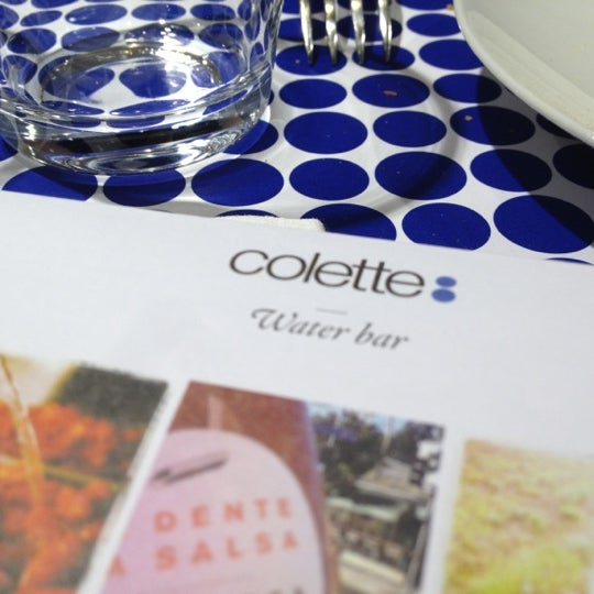 Photo taken at Water-Bar – Chez Colette by Paul T. on 11/19/2012