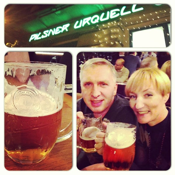 Photo taken at Kulaťák Pilsner Urquell by Valeriya K. on 1/3/2014