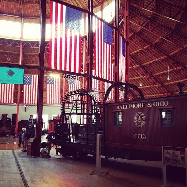 Photo taken at B & O Railroad Museum by Liz C. on 7/13/2013