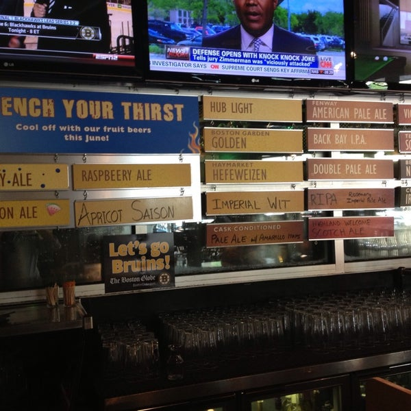 Photo taken at Boston Beer Works by Joshua H. on 6/24/2013