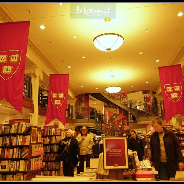 Photo taken at Harvard Coop Society Bookstore by bikabout on 4/16/2014
