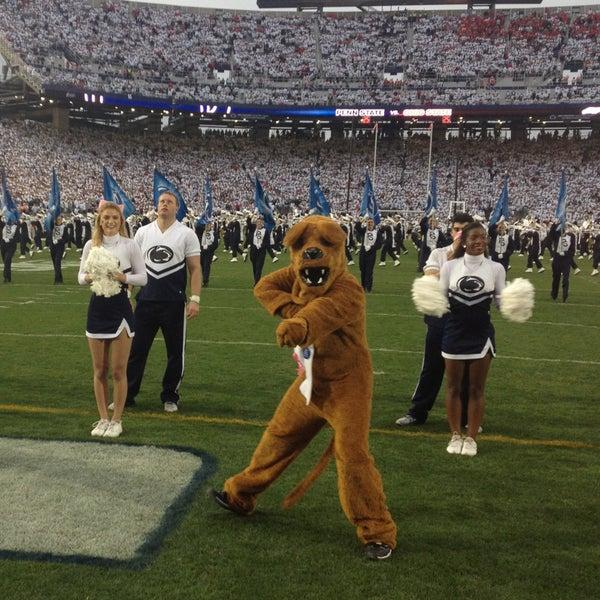 Photo taken at Beaver Stadium by Nittany Lion on 10/27/2012