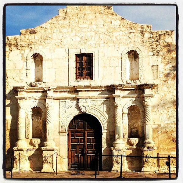 Photo taken at The Alamo by Mike M. on 1/25/2013