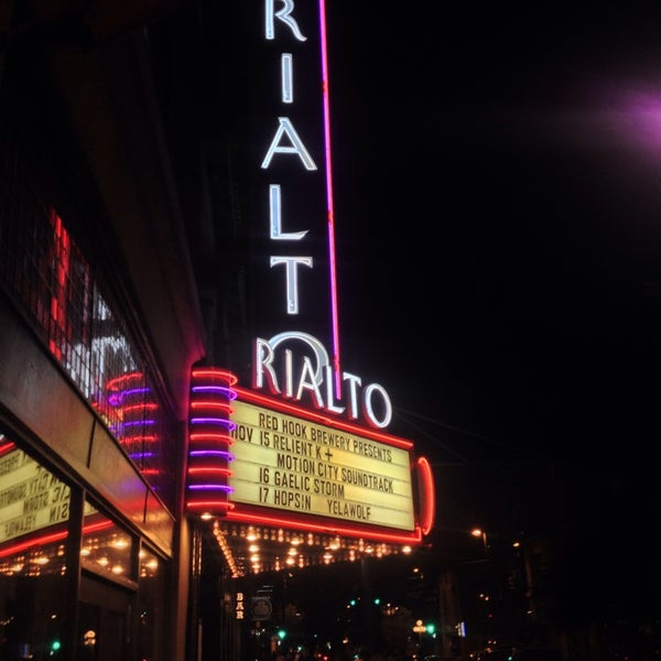 Photo taken at The Rialto Theatre by Judi M. on 11/16/2013