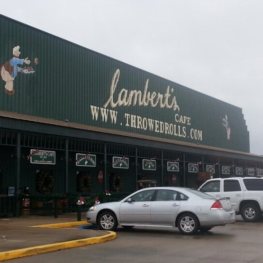 Photo taken at Lambert's Cafe by Michael K. on 12/9/2012