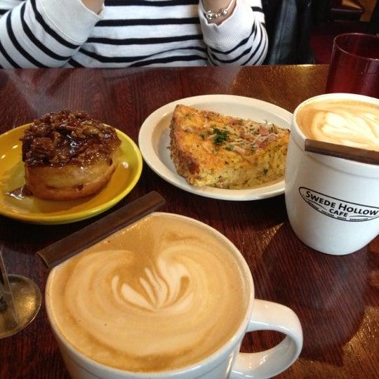 Swede Hollow Cafe Menu