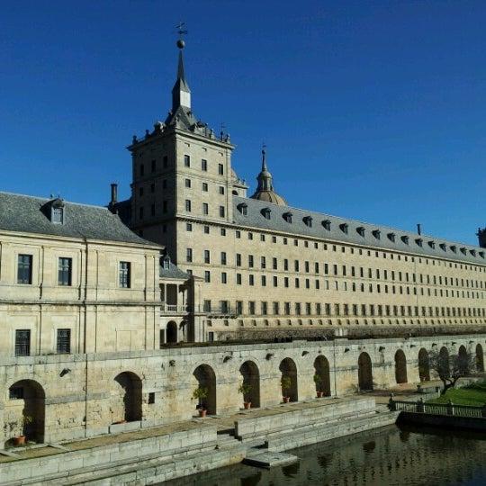 Photo taken at Monasterio de San Lorenzo de El Escorial by Sergej S. on 12/26/2012
