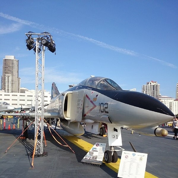 Photo taken at USS Midway Museum by S. H. Y. on 3/6/2014