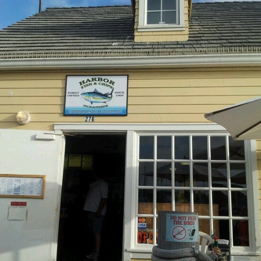 Photo taken at Harbor Fish and Chips by Brian H. on 10/8/2012