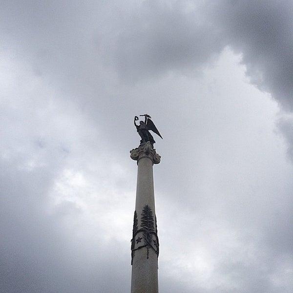 Photo taken at Piazza dei Martiri by Bjim on 2/1/2015