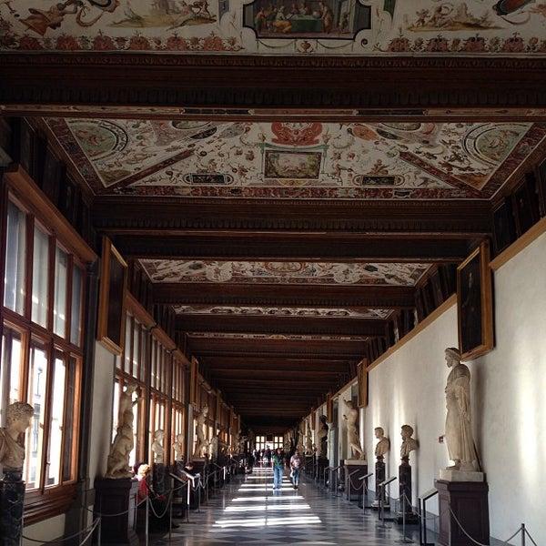 Photo taken at Galleria degli Uffizi by R A. on 4/17/2013