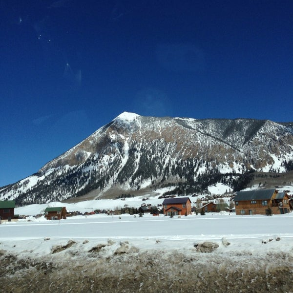 Photo taken at Crested Butte, CO by Susie B. on 3/8/2014
