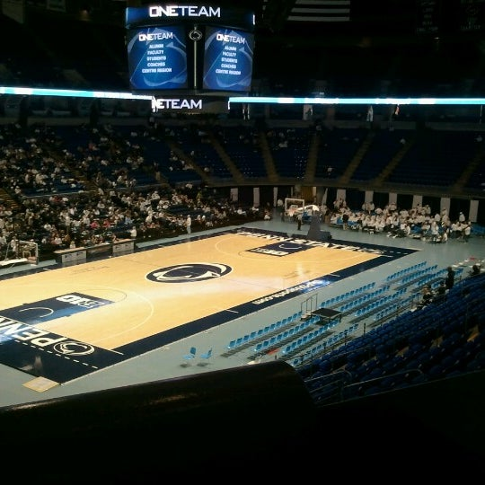 Photo taken at Bryce Jordan Center by Elliot on 10/6/2012