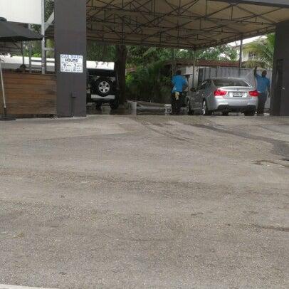 Photo taken at Karma Car Wash by Ana P. on 11/10/2012