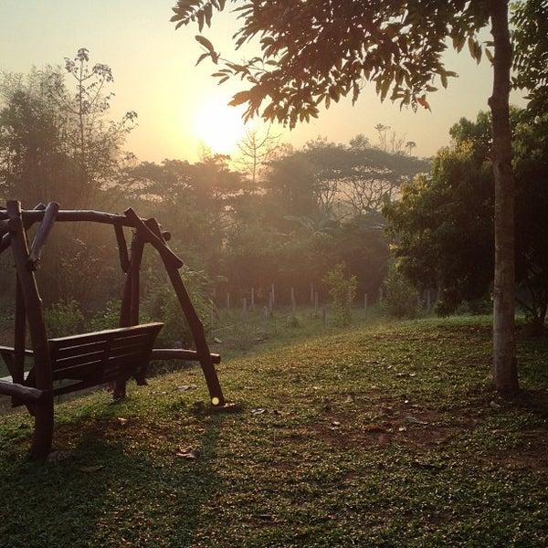 Photo taken at Lampang Vineyard by Jesada K. on 2/5/2013