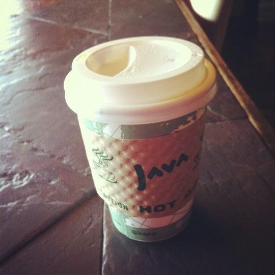Photo taken at Rivertown Coffee by Samantha on 10/3/2012