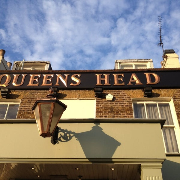 the queens head pub in chislehurst. Black Bedroom Furniture Sets. Home Design Ideas