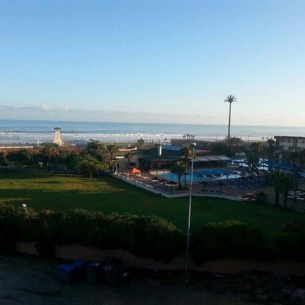 Photo taken at La Corniche de Casablanca by Hamza B. on 7/28/2013