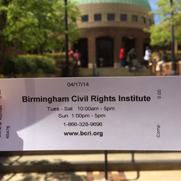 Photo taken at Birmingham Civil Rights Institute by Chagan S. on 4/17/2014