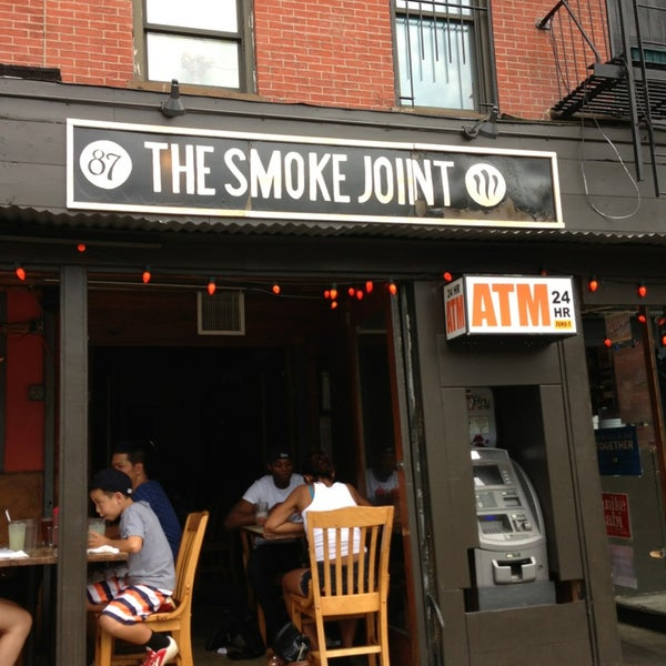 Photo taken at The Smoke Joint by Faith on 8/10/2013