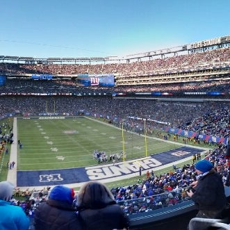 Photo taken at MetLife Stadium by Sam T. on 12/30/2012