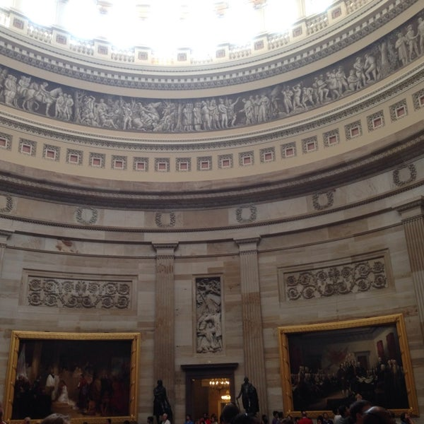 Photo taken at Rotunda of the U.S. Capitol by Jeremy M. on 8/2/2014