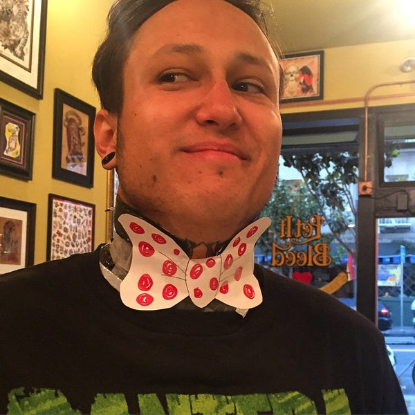 Photo taken at Let It Bleed Tattoo by Dannyboy on 6/30/2015