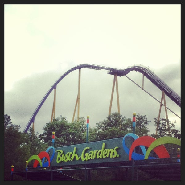 Photo taken at Busch Gardens Williamsburg by Matt D. on 5/4/2013